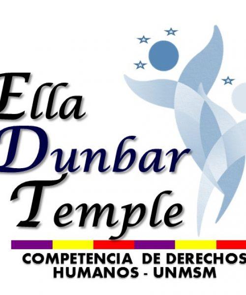 """Competencia de Derechos Humanos """"Ella Dunbar Temple"""""""